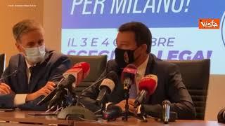 """Salvini: """"No vax fuori dalla Lega? Nostro è movimento democratico"""""""