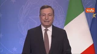 """Draghi: """"Disparità di diffusione vaccini nel mondo è drammatica"""""""