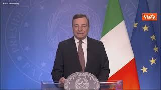 """Draghi: """"Evitare che Afghanistan diventi di nuovo minaccia per sicurezza internazionale"""""""