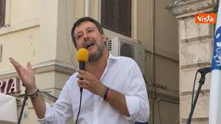 """Salvini: """"Alzare le tasse sulla casa è immorale"""""""