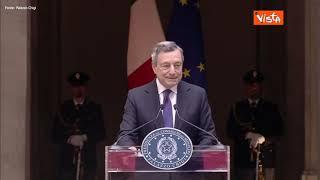"""Draghi incontra le Nazionali di pallavolo: """"Stagione straordinaria per l'Italia"""""""