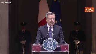 """Draghi: """"Sport permette ai giovani di crescere e migliorarsi"""""""