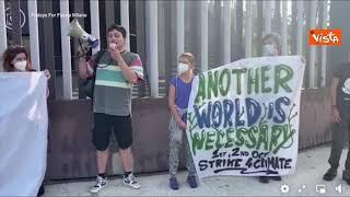Fridays For Future, gli attivisti di Milano manifestano alla PreCop26