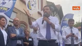 """Salvini: """"Italia è fondata sul lavoro, non sul reddito di cittadinanza"""""""