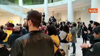 No Green pass, studenti e docenti occupano Università Torino