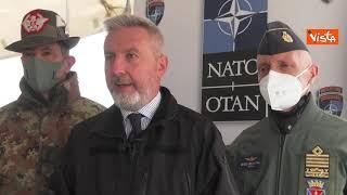 """Guerini al cambio di comando della Kosovo Force: """"Impegno Italia resta immutato"""""""