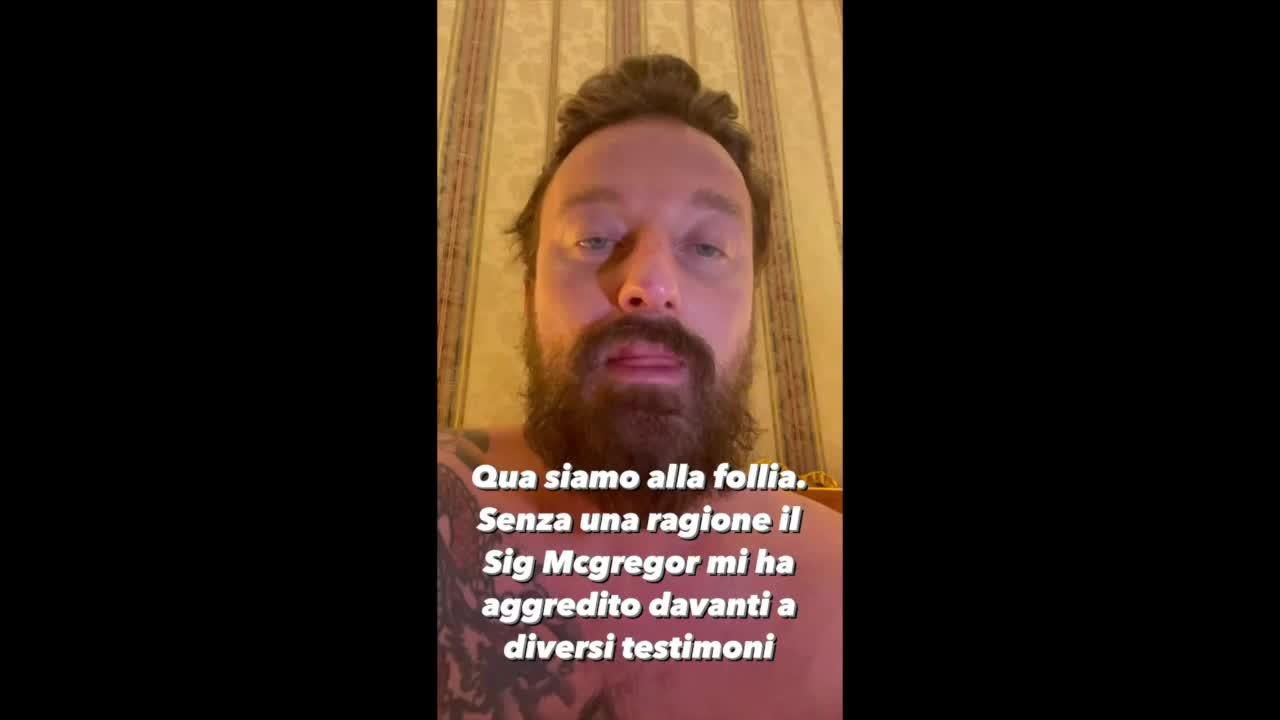 L'aggressione a Francesco Facchinetti