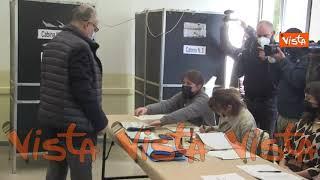 Ballottaggio Roma, ecco il momento del voto di Roberto Gualtieri