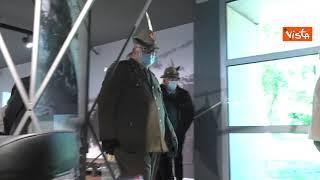 Guerini taglia nastro al Museo Storico Nazionale degli Alpini di Trento