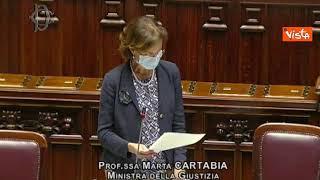 "Cartabia: ""69mila pene fuori carcere ma troppi vuoti organico"""