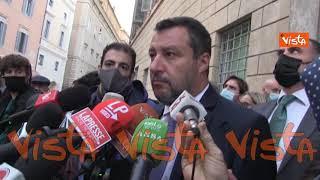 """Salvini: """"Centrodestra compatto è un valore aggiunto per Draghi e per il Governo"""""""