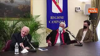 """De Luca: """"In Campania no a diritto cittadinanza per i «Green pippe»"""""""
