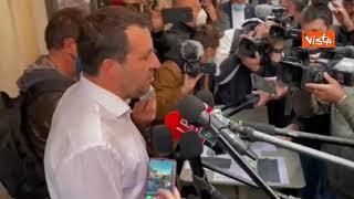 """Pensioni, Salvini: """"Impegno Lega per trovare soluzione equilibrata. No a ritorno a Fornero"""""""