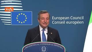 """Draghi: """"Non ho mai condiviso quota 100, non verrà rinnovata dopo questo triennio"""""""