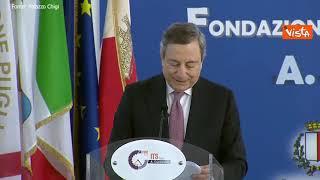 """Draghi: """"Nostro dovere abbattere pregiudizi che ostacolano espressione talento femminile"""""""