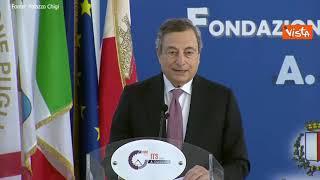 """Draghi: """"Italia per anni si è dimenticata dei giovani, ma ora sono al centro dell'azione di Governo"""""""