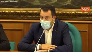 """Pensioni, Salvini: """"Abbiamo presentato alternative, nostro obiettivo è quota 41"""""""