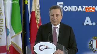 """Draghi: """"Investire nella scuola è atto di giustizia sociale"""""""