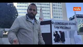 No Green pass, il consigliere regionale del M5s Piccirillo sposta ufficio fuori dal Pirellone