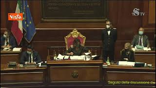 """Bagarre in Aula, Casellati a Santangelo (M5s): """"Non può fare quei gesti, la smetta o l'allontano"""""""