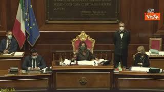 """Bagarre al Senato durante discussione Ddl Zan, Casellati: """"Senatore Santangelo è un gran maleducato"""""""