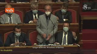 """Ddl Zan, Calderoli (Lega): """"Meglio fermarsi qui che fare una porcata"""""""