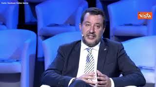 """Salvini: """"Ddl Zan affossato da arroganza di Letta"""""""