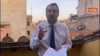 """Omotransfobia, Salvini: """"Ripartiamo da testo che unisce, proposta Lega c'è già"""""""