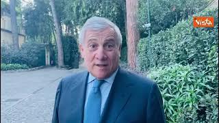 """Tajani:"""" Con Lega incontro positivo, lavoriamo insieme per riduzione pressione fiscale"""""""