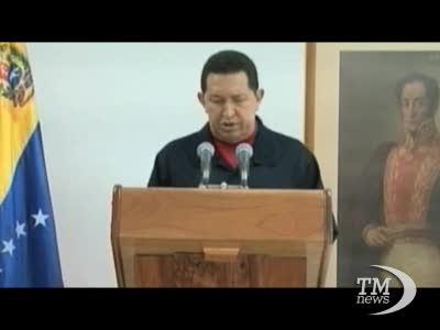 """Chavez: """"Ho un cancro"""""""