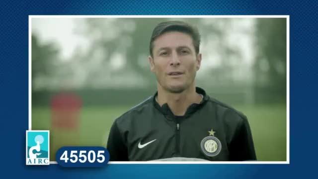 Un gol per la ricerca: Javier Zanetti