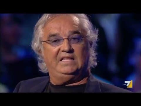 """Briatore e la """"maestrina"""" Costamagna"""