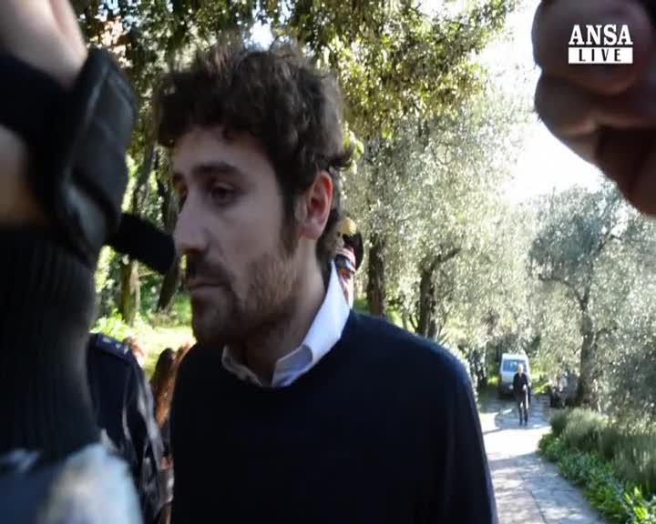 Andrea Calevo grato con chi lo ha liberato
