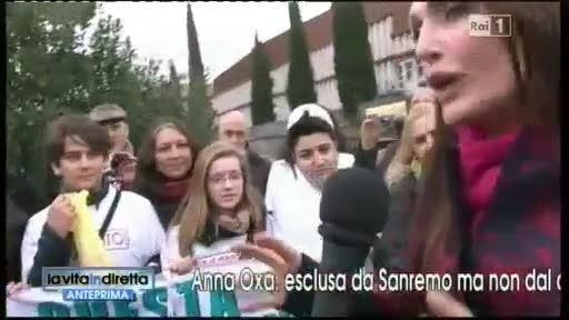 Anna Oxa contro Sanremo 2013