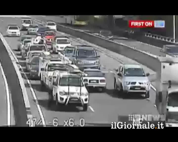 Inversione in autostrada