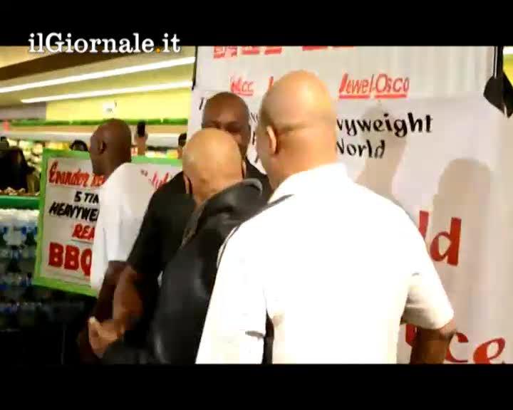 Tyson e Holyfield: incontro da amici nella Wind City