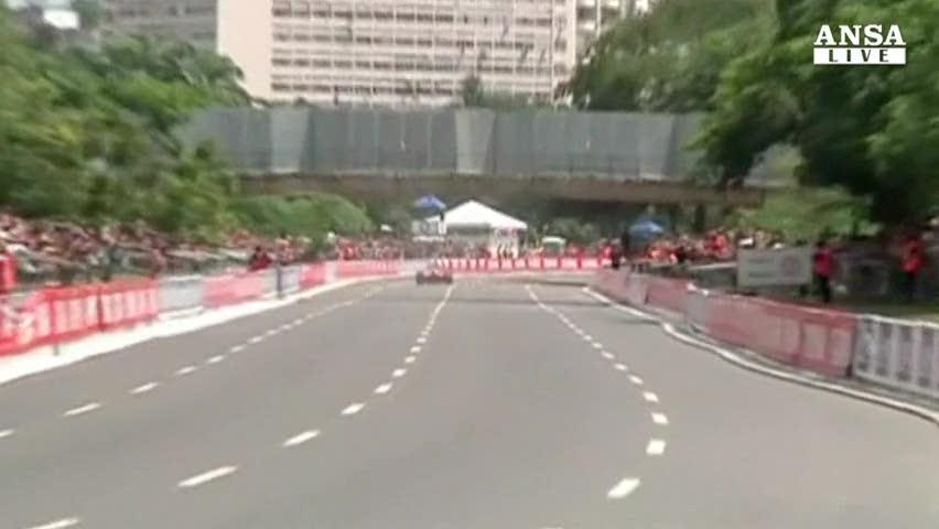 Rio de Janeiro: che show per il Ferrari-day