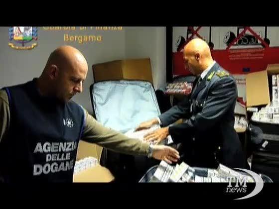 Sigarette in valigia: maxi sequesto a Orio al Serio