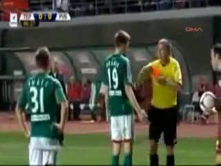 Premier ceceno insulta l'arbitro all'altoparlante