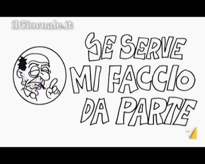 Vauro dedica un cartoon a Bersani