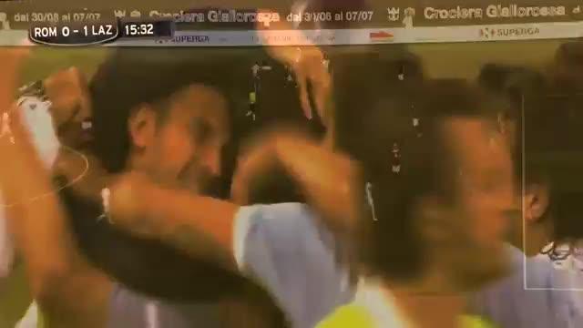 Roma-Lazio: i gol del derby