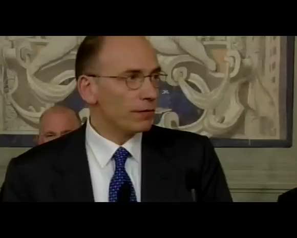 """Letta: """"Un governo al servizio del Paese"""""""