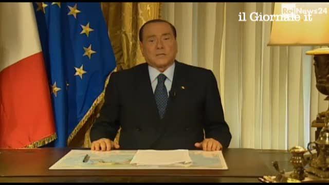 Il videomessaggio di Berlusconi