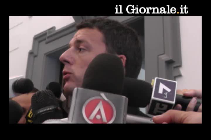 Renzi a spasso con Marino