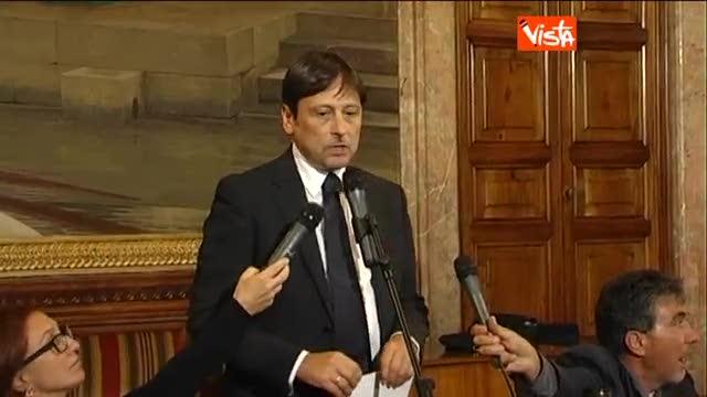 "Stefano: ""La Giunta ha votato la decadenza del Cav"""