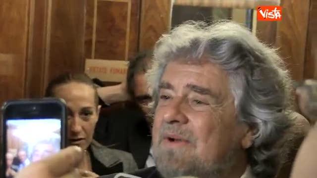 """Grillo contro Napolitano: """"Chiederò l'impeachment"""""""