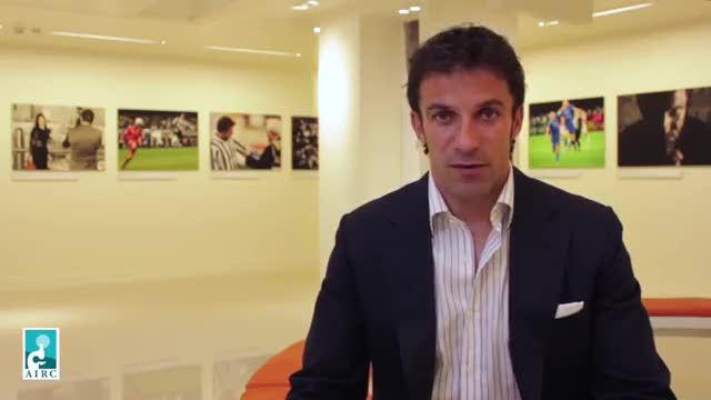 """Del Piero: """"Tutti insieme possiamo aiutare i ricercatori dell'Airc"""""""