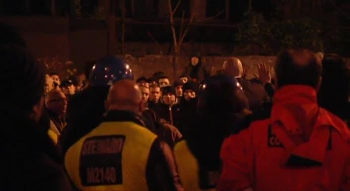 Milan, la contestazione dei tifosi al Meazza