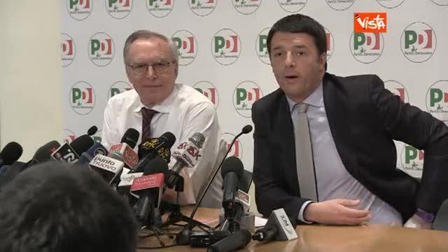 """Larghe intese, Renzi: """"Sapete come la penso"""""""