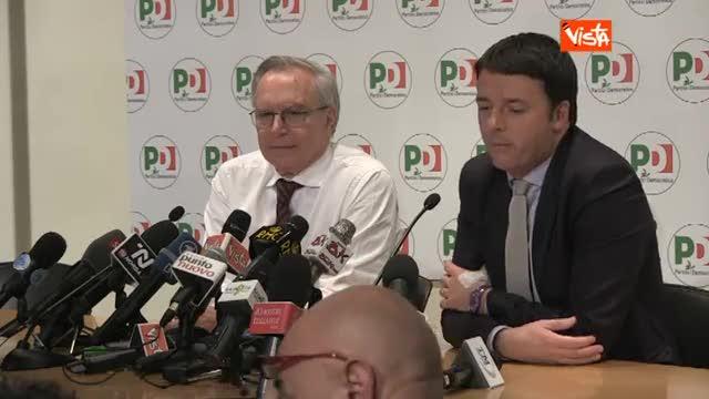 """Renzi cita Mike Bongiorno: """"La uno, la due o la tre?"""""""